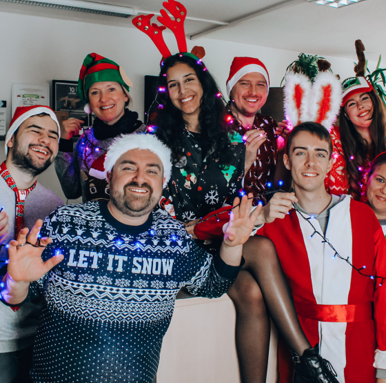 Die soundlarge Crew / Weihnachten 2019