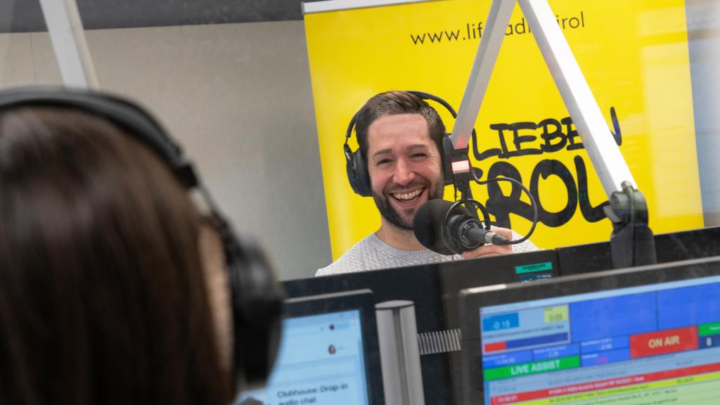Life Radio Tirol Moderator Manolito Licha