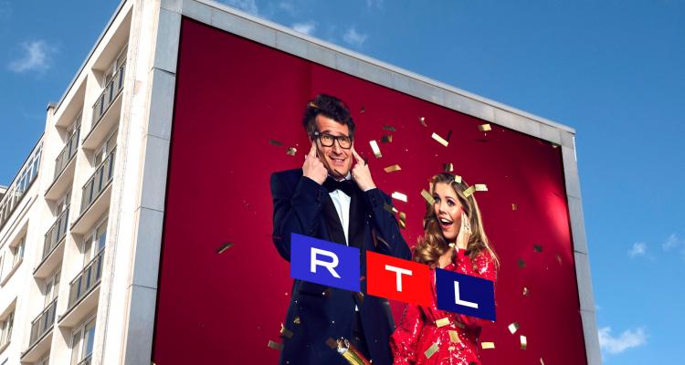 Die neue Let's Dance Kampagne wird jetzt in rot und blau gestaltet. (c) TVNOW
