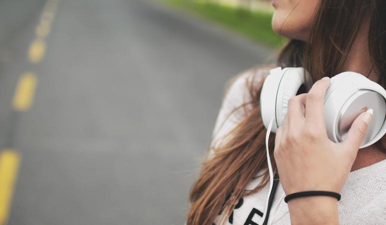 Musik gehört zum Alltag junger Menschen dazu